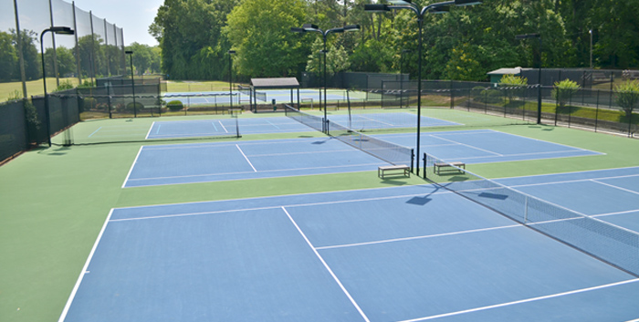 Coosa Country Club Tennis Court